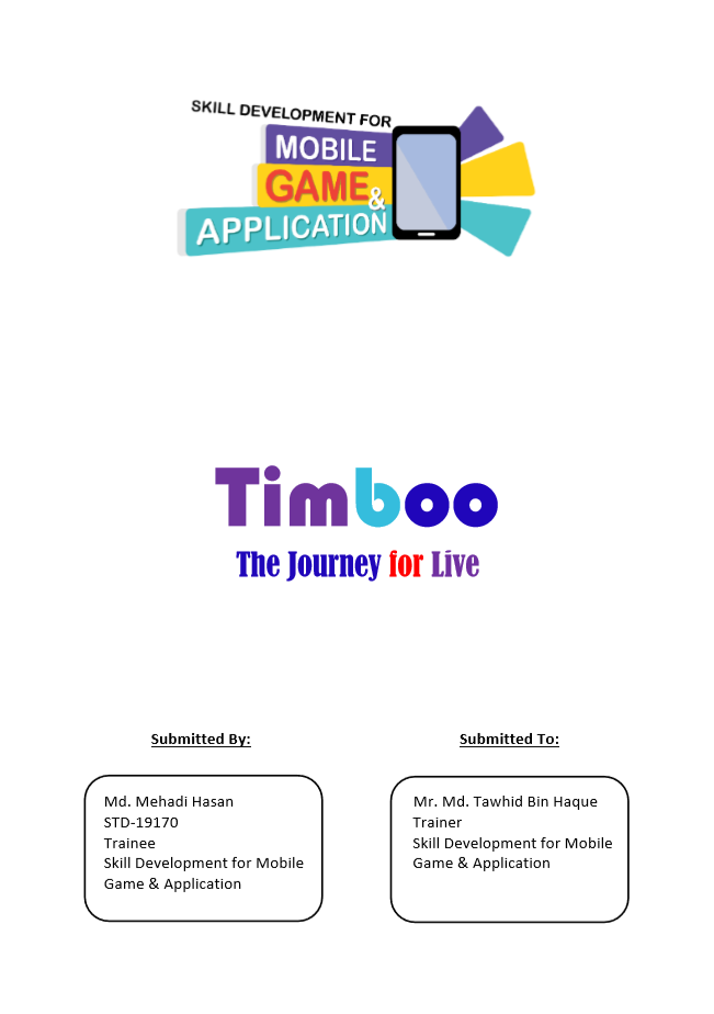 Timboo-The Journey for Live